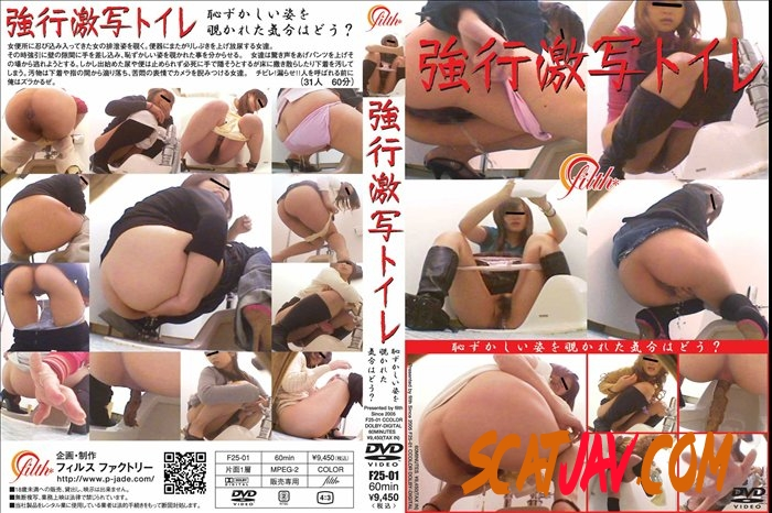 F25-01 強行激写トイレ Defecation in the Toilet With a Hidden Camera (082.0506_F25-01 | 2018 | SD) (799 MB)