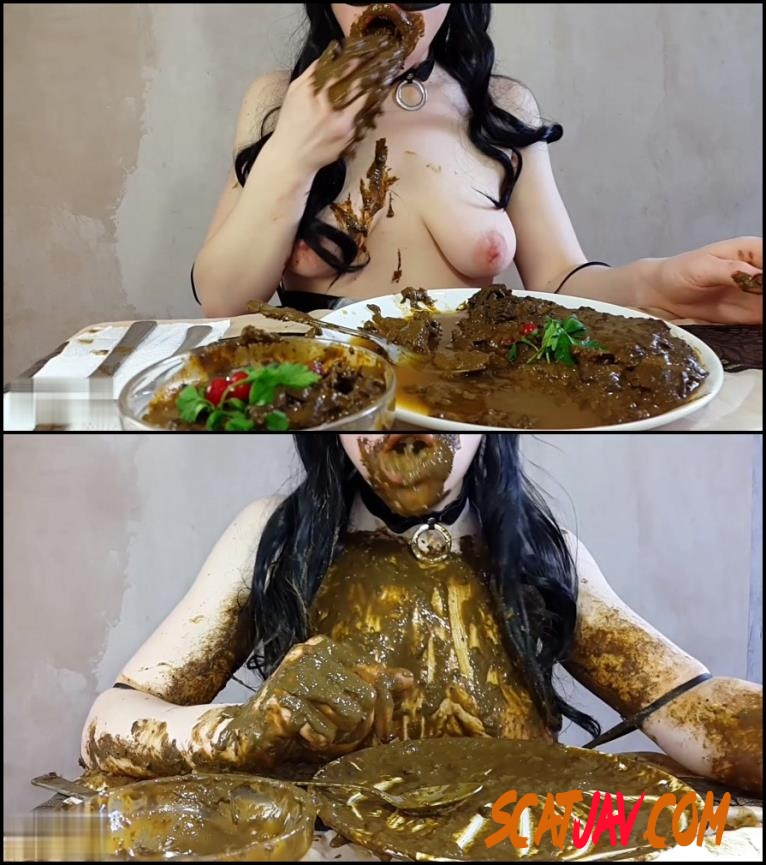 [Special #547] Anna Coprofield made dinner out of shit and ate fresh shit (143.547_BFSpec-547 | 2018 | FullHD) (3.11 GB)